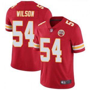 Chiefs Damien Wilson Red Jersey